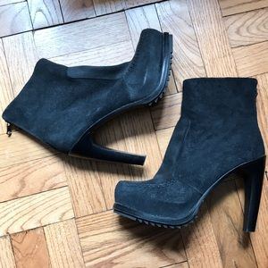 Rag & Bone platform bootie w/ convertable harness